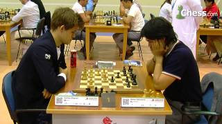 getlinkyoutube.com-Carlsen-Nakamura at the FIDE World Blitz Championship 2014