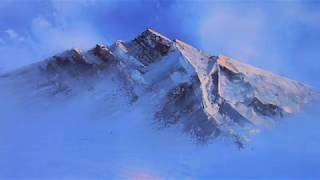 getlinkyoutube.com-Ölmalerei - Himmel, Wolken, Berge, Nebel