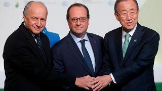 François Hollande lance la COP21 - Discours intégral