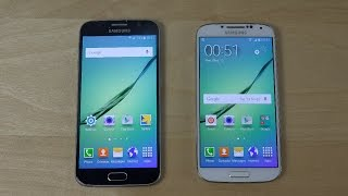 getlinkyoutube.com-Samsung Galaxy S6 vs. Samsung Galaxy S4 S6 Port - Which Is Faster?
