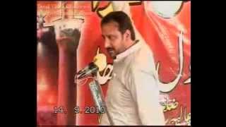 getlinkyoutube.com-Zakir Saqlain Abbas Ghallu Yadghar Majlis Imam e Zamana as Ki Jang