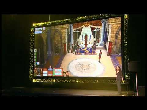 Les Sims Medieval - Confrence GamesCom 2010