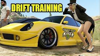 getlinkyoutube.com-GTA V - DRIFT TRAINING !