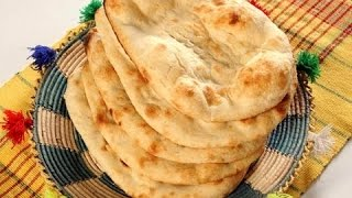 getlinkyoutube.com-Naan without Tandoor - Tawa Naan with English subtitles