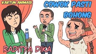 Raditya Dika - Cowok Pasti Bohong  (Kartun Animasi) by Ardy Arsyudio
