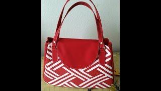 getlinkyoutube.com-How to make a designer handbag/ patterns z 1