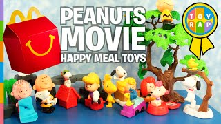getlinkyoutube.com-The Peanuts Movie Snoopy McDonalds Happy Meal Charlie Brown Surprise Toys by ToyRap