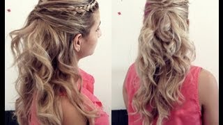 getlinkyoutube.com-Penteado Simples Pretty Princess Pamella Rocha