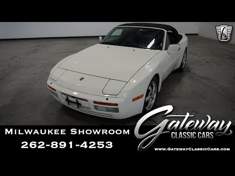 1990 Porsche 944S-Gateway Classic Cars-Milwaukee 645