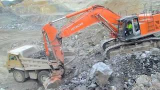getlinkyoutube.com-Hitachi Zaxis 670 Excavator in Australia