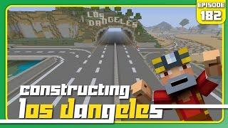 getlinkyoutube.com-Minecraft Xbox 360: Constructing Los Dangeles - Episode 182! (Highway is Done!!)