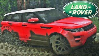 getlinkyoutube.com-Range Rover Evoque Off Road