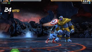 Thanos Enters Quest Speed Run | Marvel Contest of Champions