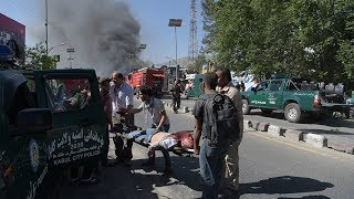Kabul blast: At least 90 killed & 400 wounded in explosion in Afghan capital's embassy district