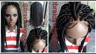 getlinkyoutube.com-DIY: Affordable Box Braid Wig (Beginner Friendly)
