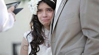 """getlinkyoutube.com-Niña """"se casa"""" con 11 años en la boda ficticia mas emocionante del mundo Lloraras de emocion"""