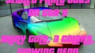 getlinkyoutube.com-GTA 5 Online: SECRET Car Colors - Neon, Gold, 3-COLORS & More! RARE Paint Jobs (GTA V)