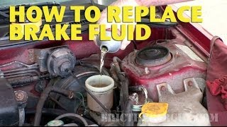 getlinkyoutube.com-How To Replace  Brake Fluid by Yourself - EricTheCarGuy