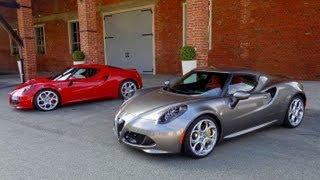 2014 ALFA ROMEO 4C French TEST DRIVE English SUBTITLES