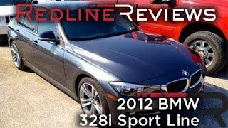 getlinkyoutube.com-2012 BMW 328i Sport Line Walkaround, Start Up, Exhaust, Review