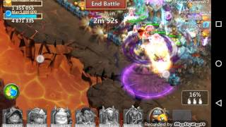 Castle Clash insane dungeon 2-1 (3flame)