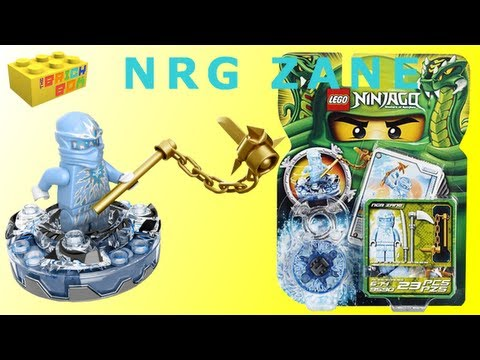 Lego Ninjago NRG Zane Spinner 9590 Review