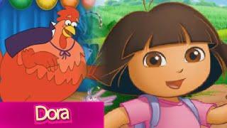 getlinkyoutube.com-Dora the Explorer Games: Nick Jr. Magic Land Episode for Kids TV