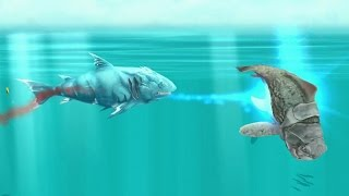 getlinkyoutube.com-Hungry Shark Evolution Ice Shark Android Gameplay #10