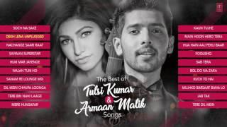 The Best Of Tulsi Kumar & Armaan Malik Songs 2017   Audio Jukebox   T Series