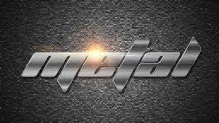 getlinkyoutube.com-Photoshop - Shiny Steel Metal Text Effect