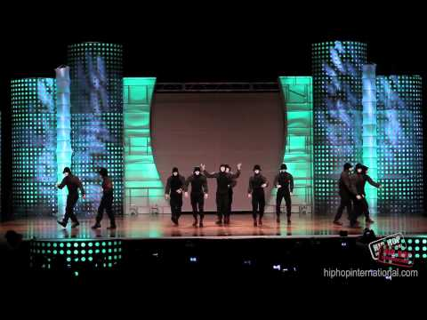 Jabbawockeez Performance at 2012 World Hip Hop Dance Championship