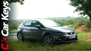 getlinkyoutube.com-Seat Leon FR 4K 2016 review - Car Keys