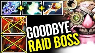 How To DELETE Raid Boss! Waga Sniper Legend Dota 2 Ultimate Build width=
