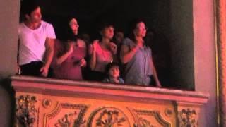 getlinkyoutube.com-El elenco de Esperanza Mia bailando A Bailar (Rosario)