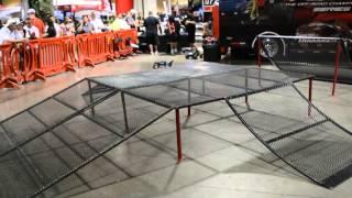 "getlinkyoutube.com-TRAXXAS RC Trucks, freestyle ramp jump ""demo"""