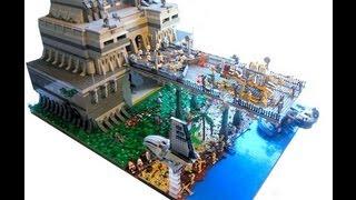 getlinkyoutube.com-LEGO Star Wars The Clone Wars Clone Base on Bakura MOC