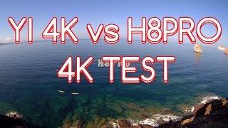 getlinkyoutube.com-YI 4K VS Eken H8 PRO [4K Comparison]