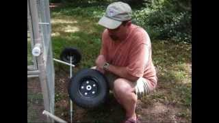 getlinkyoutube.com-How To Raise Chickens - Putting Your Coop On Wheels