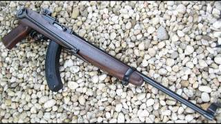 getlinkyoutube.com-Ruger 10-22 Federal Ordnance Underfolding Stock