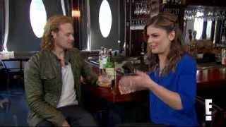 getlinkyoutube.com-Watch with Kristin: Sam Heughan Scotch Tasting