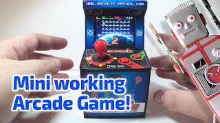getlinkyoutube.com-2011 MINI WORKING ARCADE MACHINE by Arcadie