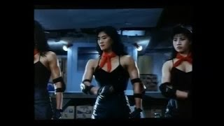 getlinkyoutube.com-Chinese Female Bodybuilder villains in action comedy movie (1989)
