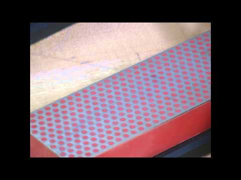 Video of Sharpen Paring Knives with our DMT's 6-inch. Diamond Whetstone™