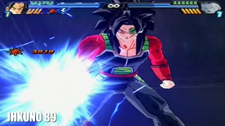 All transformations and attacks of Bardock | DBZ Budokai Tenkaichi 3
