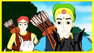 getlinkyoutube.com-Two Friends & A Princess Hindi Story For Kids