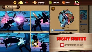 getlinkyoutube.com-Shadow Fight 2 new raid - Freeze fighting without set monk