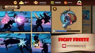 getlinkyoutube.com-Shadow Fight 2 Freeze fighting without set monk