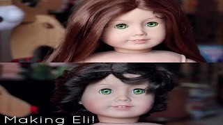 getlinkyoutube.com-MAKING ELI (Custom American Girl Boy Doll)