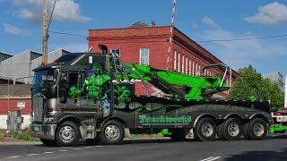 TruckWorks Kenworth K200 Incredible Hulk at Castlemaine