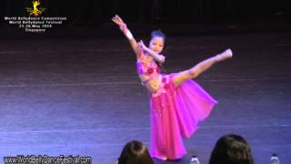 WBDF Competition 2014 Children's Oriental Solo, 1st Runner up - Jacqueline Lee (Age 7)